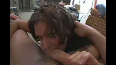 Plump latina named Amber Fuentes milking a rock hard cock