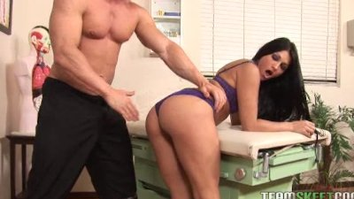 Hot ass Jade Indica getting rammed hard in the school clinic