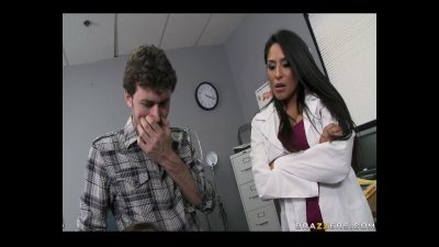 Big Titted Latina Dr. Jolie craves some raw and nasty fucking