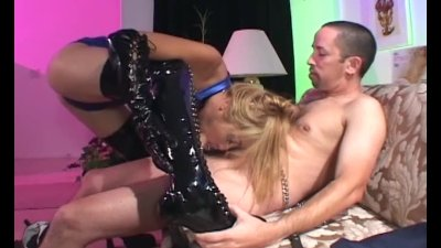 Compilation of latex boots and sex in boots