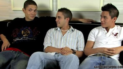 Trevin, Michael and Ty Jerk Race