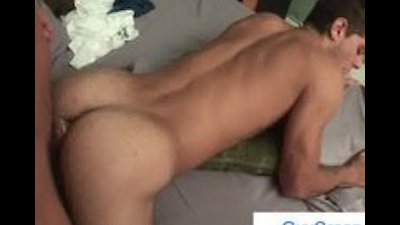 Dude gets his hairy asshole fucked deep by guycreep