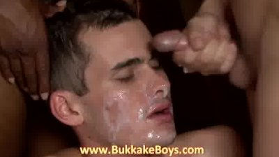 Hot dude pleasuring cocks with his mouth