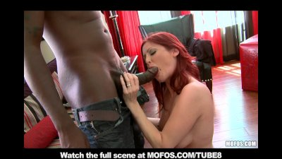 RED HEAD MILF WITH NATURAL TITS NEEDS TO FUCK BLACK COCK