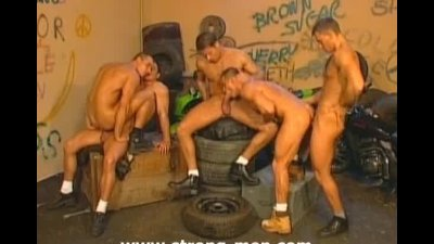 Group Sex Muscle Studs