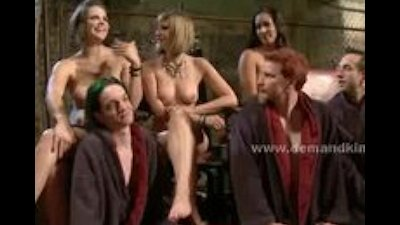 Ladies pervert men in the hall of female domination sex abusing t