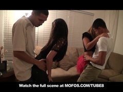 NATURAL TIT BRUNETTE TEEN SLUTS FUCK IN ORGY PARTY  MISS CONCERT