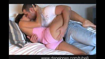DaneJones Brunette with fit body loves sex