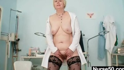 Big tits old lady in uniform fingers hairy pussy - Porn Video 691 ...