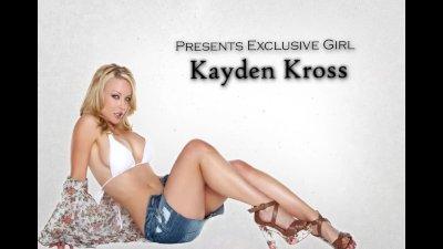 Stunning naturaltit girlfriend Kayden Kross rides dick to orgasm