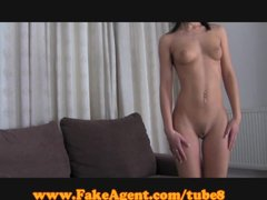 FakeAgent Elegant brunette taken for ride