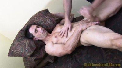 Casey Black Blows Brenner's Load