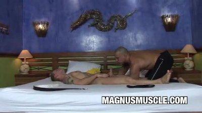 Muscle Latin Dude Alexander Senna Fucked Deep