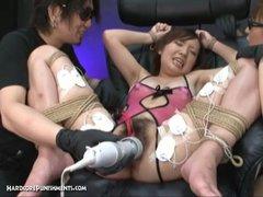 Japanese Bondage Sex  Extreme BDSM Punishment of Ayumi Pt  12