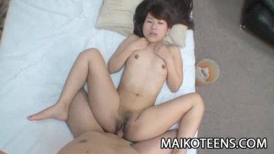Tight teen Japanese Aiko Kondo enjoying toys and sex