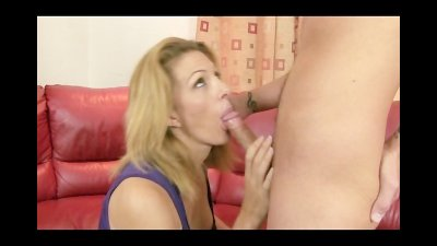 MILF Gets Anal While Daughter Watches