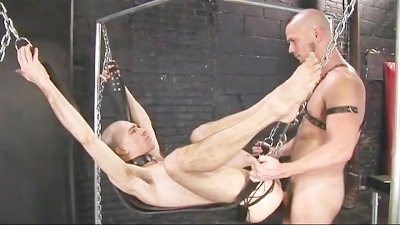 Raw Fucking in a Sling