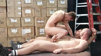 Mason's Warehouse Raw Fuck Threeway