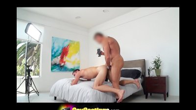 GayCastings Thick Cock on California Surfer Bottom