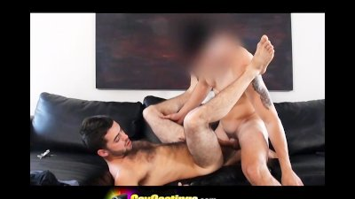 GayCastings Young Hairy Dude First Timer Porn