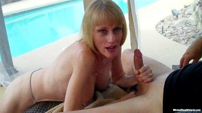 Wicked Sexy Melanie cuckolds Hubby