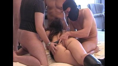 Slutwife gets banged by 12 men at the hotel room