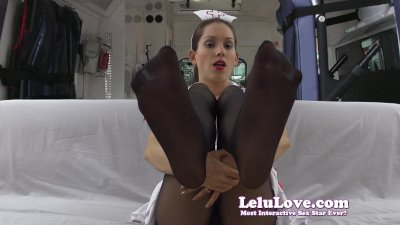 Lelu LoveNurse Pantyhose Legs Feet JOE