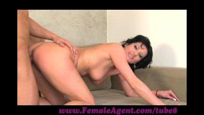 FemaleAgent. Nymphomaniac stripper delights MILF