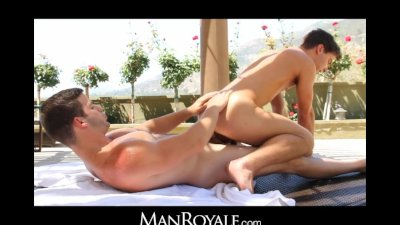ManRoyale little guy gets a big awakening from daddy