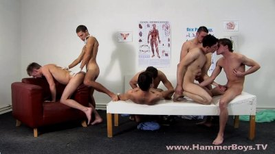 Raw Gang Bang Therapy Hammerboys