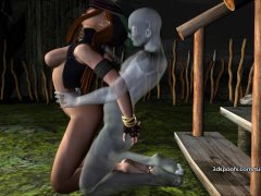 Kitty Krofts juicy pussy pounded in Womb Raider  That Voodoo That you do