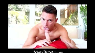 ManRoyale cowboy seduces Zachary with country cock