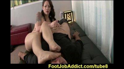 Footjob therapy with Ashton Pierce