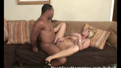 Monster black cock bangs white pussy