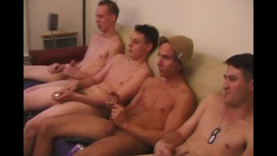 Creamed 3 - Roar, Gunner, Brock and Joey