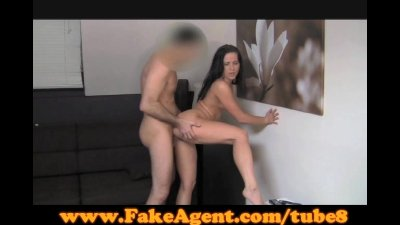 FakeAgent Surprise creampie for hot amateur