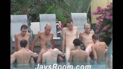 Pool Party Cum Junkies