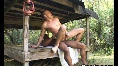 Nasty Muscled Guy Fucks Horny Gay Dude