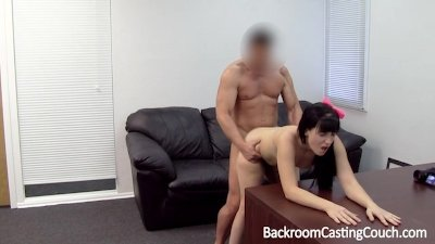 Young Mom Assfucked and Creampied