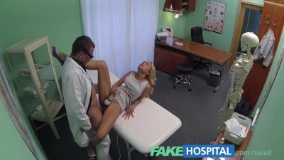 FakeHospital Sales rep caught on camera using pussy to sell hungover doctor