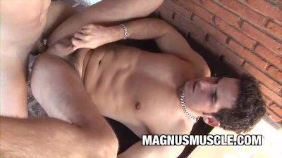Arcanjo Amaro: Sizzling Gay Anal Latinos Outdoor Play
