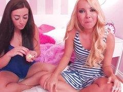 The Cracker Challenge with pornstars
