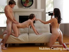 Nubiles Casting   CA hottie wants to be a pornstar