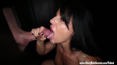 Gloryhole Secrets Milf Jade cant get enough cock 1