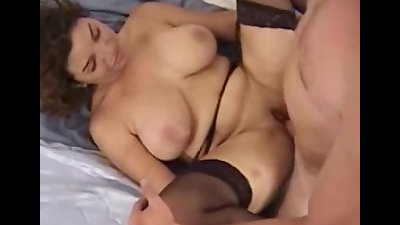 Busty Serena getting some hard fuck on bed
