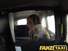 FakeTaxi Teen asks to suck cock for free ride