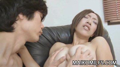 Kana Niinuma - Skinny Japan Milf Sex With BoyToy