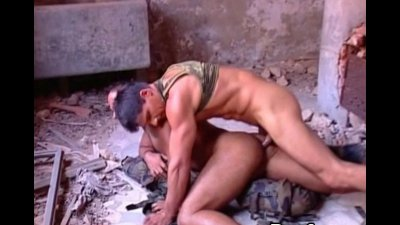 Big Army Muscled Men Craves Ass Fuck