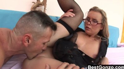 Milf Cop Spreads Her Legs For