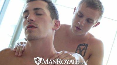 ManRoyale Sensual massage turns into hot sex